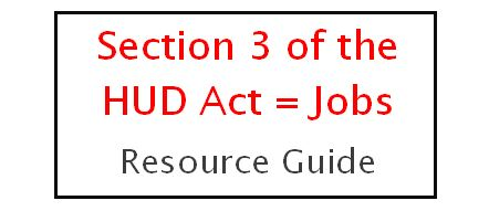 Section3HUD Jobs